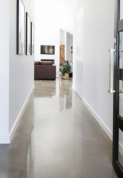 nil exposed polished concrete