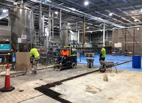 concrete grinding commercial